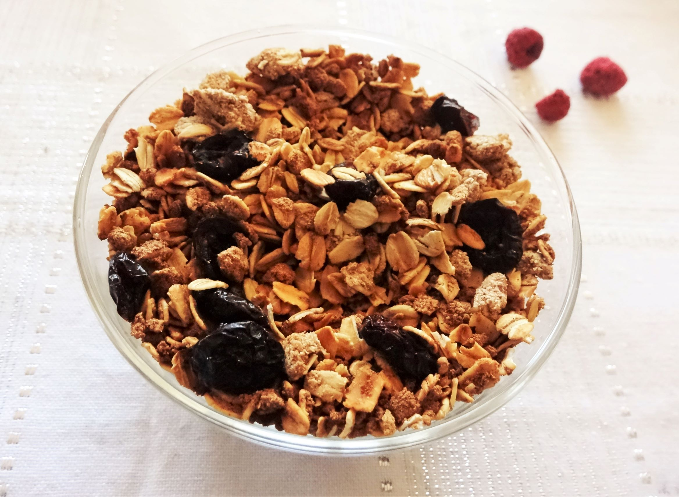 Easy Me Baked Granola: Tastes as good as top brands, but it's without sugar, added oils or gluten!