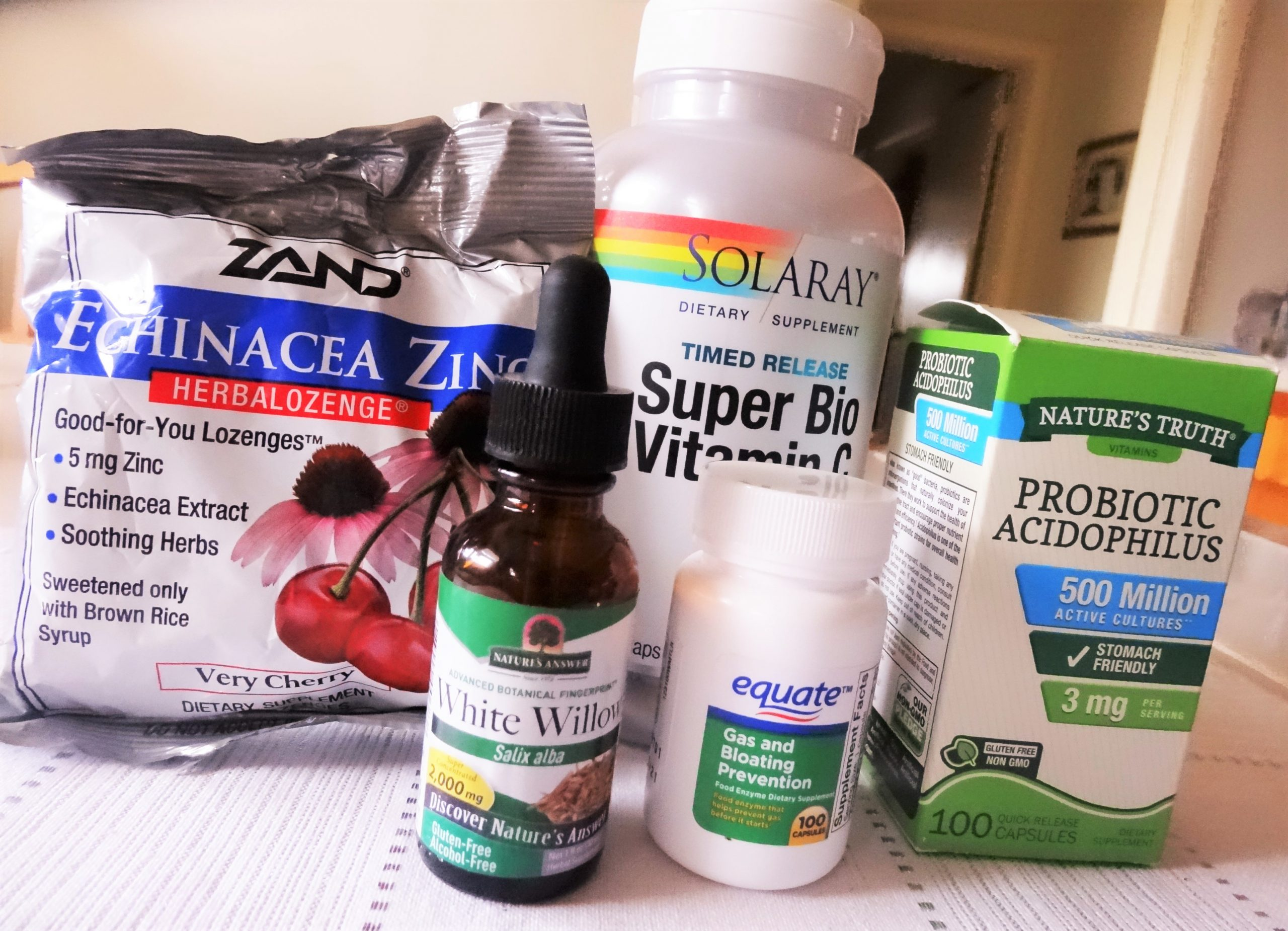 My 7 reasons to supplement: occasional use supplements