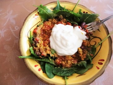 Easy Chili Salad