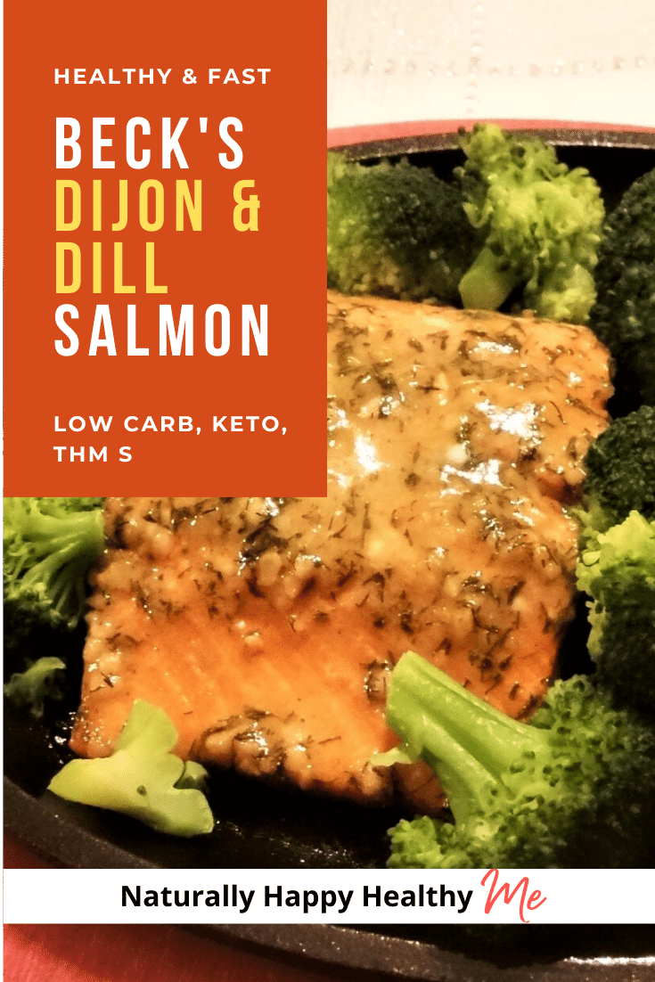Beck's Dijon and Dill Salmon