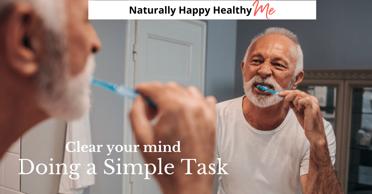 Aware Power: Clear Your Mind Doing a Simple Task