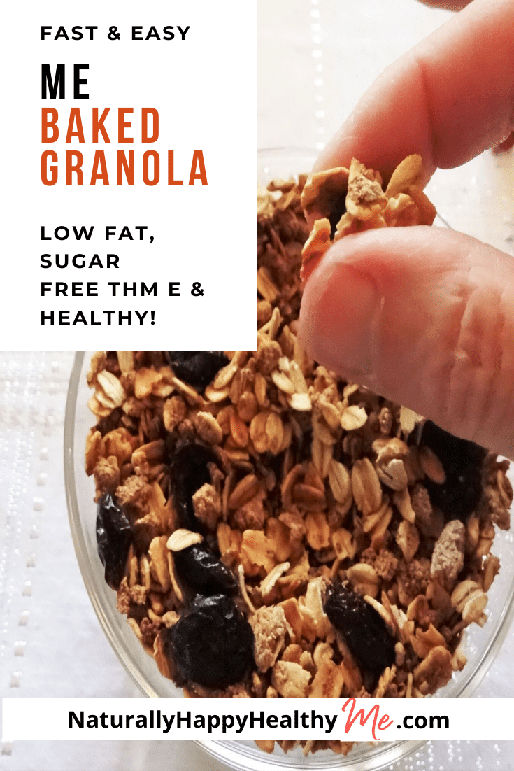 Easy Me Baked Granola 9 Ways