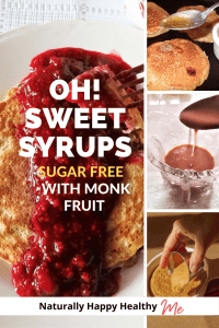 Oh! Sweet Syrups Sugar Free with Monk Fruit