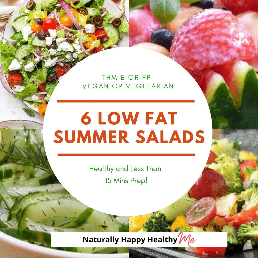 6 Low Fat Summer Salads