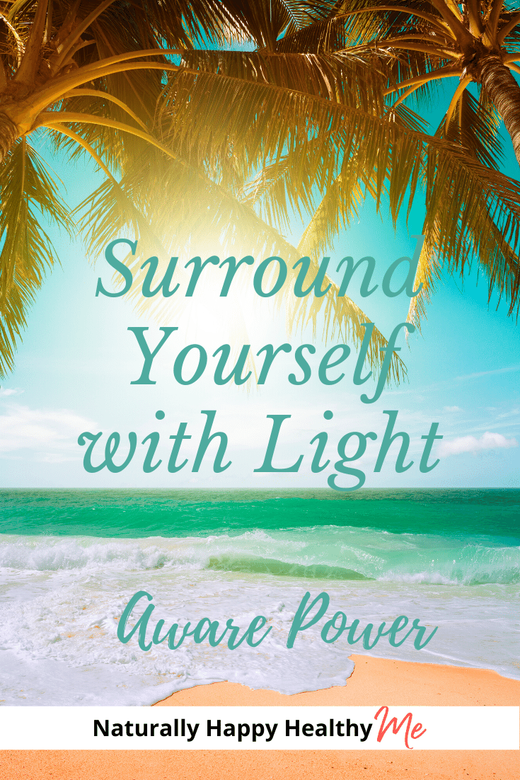 Why would you surround yourself with white light? By surrounding yourself with light, you increase your own energy field around your body. You surround yourself with positivity and protection.  It's easy, too. Read on to learn how to surround yourself with white light in seconds a day.